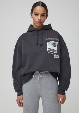 Kapuzenpullover - dark grey