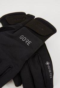 Gore Wear - GORE TEX THERMO  - Gants - black - 5