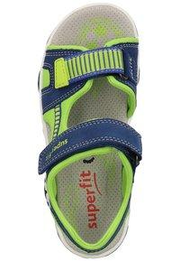 Superfit - Walking sandals - blue/green - 1