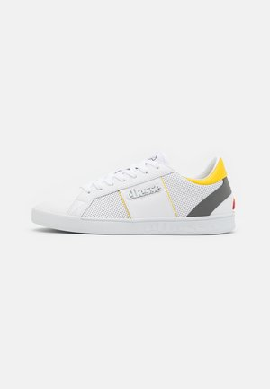 Trainers - white/grey/yellow