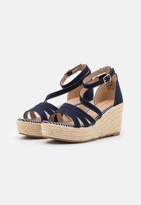 Anna Field - Platform sandals - blue - 1