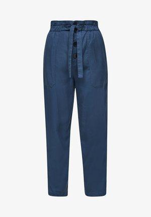 MET HOGE TAILLE - Pantalon classique - blue