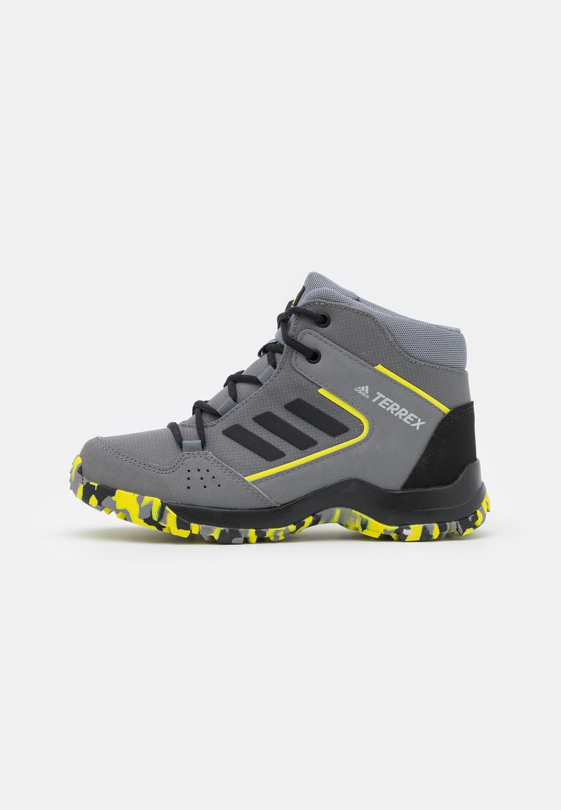 adidas Performance - TERREX HYPERHIKER TRAXION HIKING SHOES UNISEX - Hiking shoes - grey four/core black/grey three