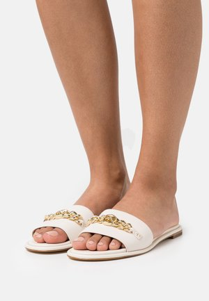 RINA SLIDE - Sandaler - light cream