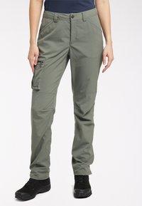 Haglöfs - Outdoor trousers - lite beluga - 0