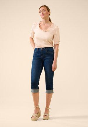 Denim shorts - dark stoned