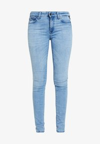 Replay - LUZ HIGH WAIST HYPERFLEX CLOUDS - Jeans Skinny Fit - light blue - 4