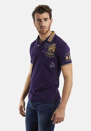 QUALIANO - Polo shirt - blue bell