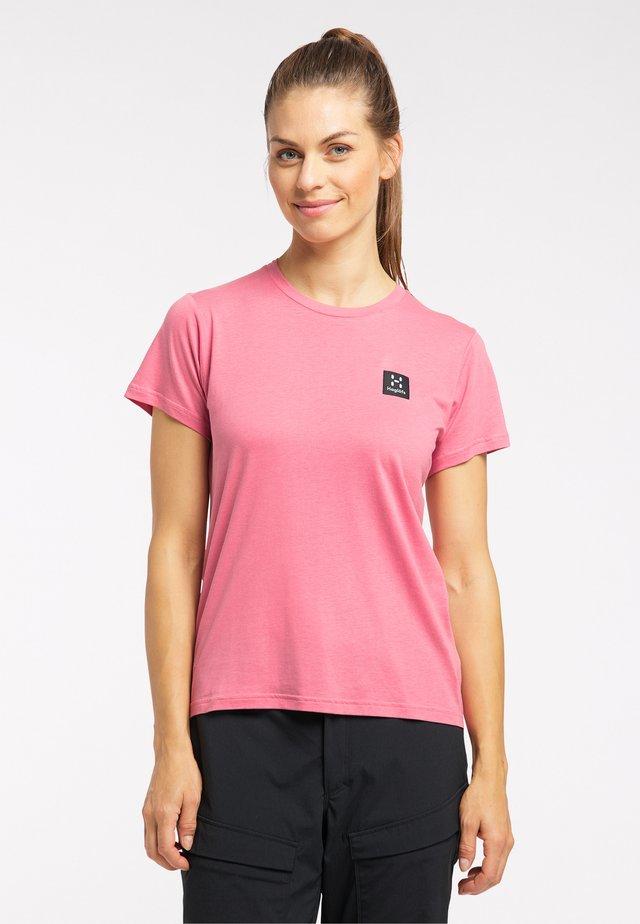 Basic T-shirt - tulip pink