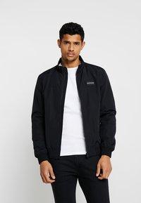 Calvin Klein Jeans - ZIP UP HARRINGTON - Bomber Jacket - black - 0