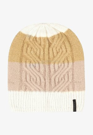 CABLE BEANIE - Beanie - powder white