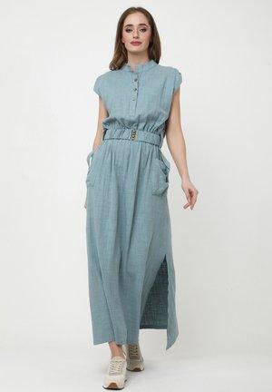 LUSIA - Robe chemise - grau blau