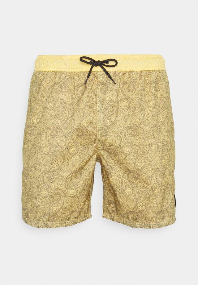 GRANNY RUG VOLLEY - Shorts da mare - mustard