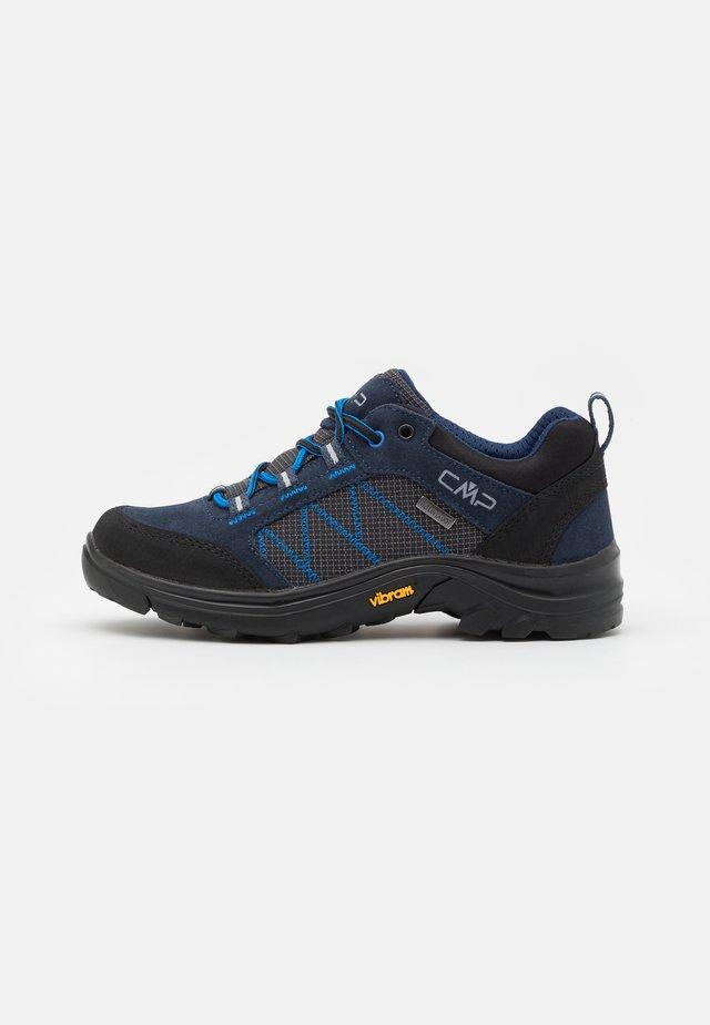 KIDS THIAMAT LOW 2.0 SHOE WP UNISEX - Hiking shoes - black/blue