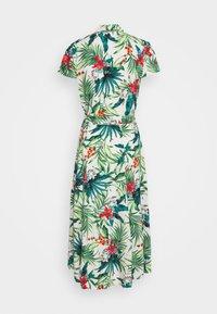 Dorothy Perkins - TROPICAL SHIRT DRESS - Shirt dress - white - 1