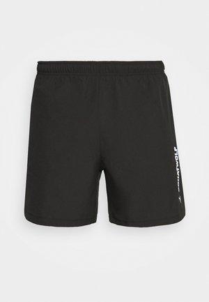 WARRIOR SHORTS - Pantalón corto de deporte - black