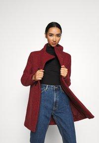 ONLY - SOPHIA - Zimní kabát - fired brick/melange - 3