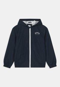 BOSS Kidswear - Vodotěsná bunda - navy - 0