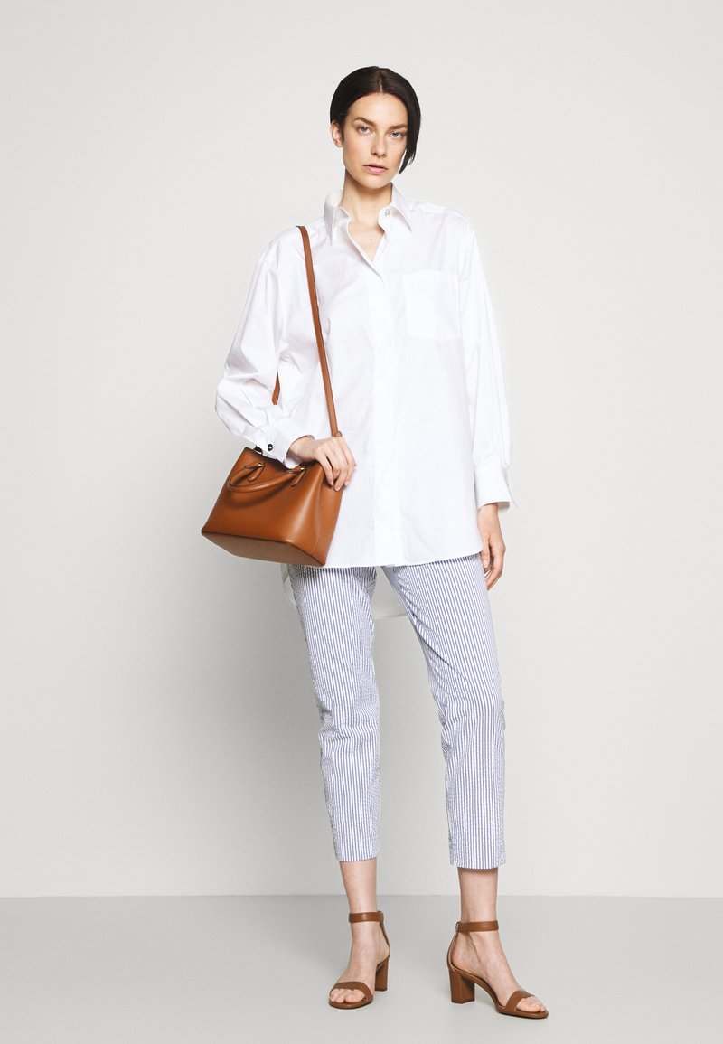 Lauren Ralph Lauren - SUPER SMOOTH MARCY - Handbag - tan/monarch orange