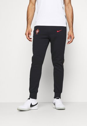 PORTUGAL FPF PANT - Article de supporter - black/sport red