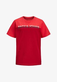 Jack & Jones Junior - Print T-shirt - bittersweet - 5