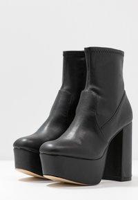 Office - ANOTHER LEVEL - Ankelboots med høye hæler - black - 4