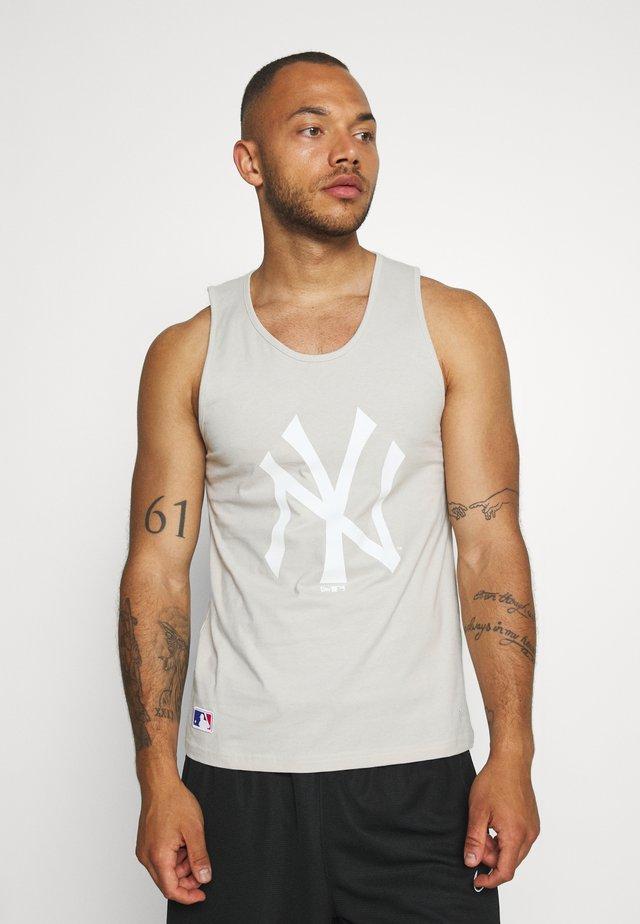 MLB SEASONAL TEAM LOGO TANK NEW YORK YANKEES - Club wear - off white