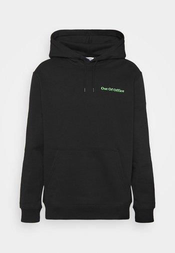 STANDARD PRINTED HOODIE - Sweatshirt - black dark