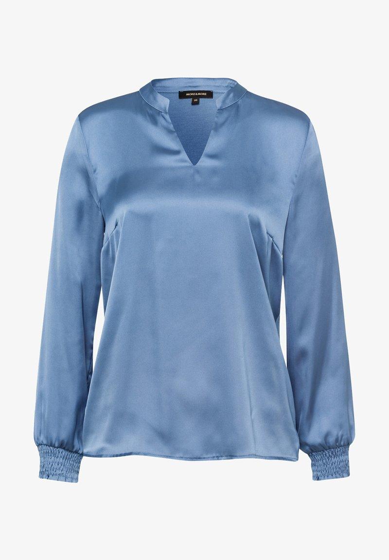 More & More - Blouse - blau