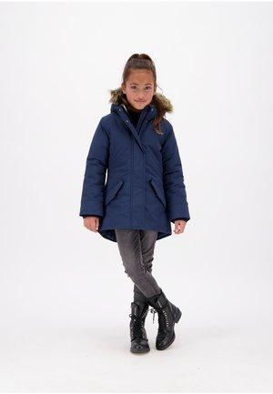 TESSIE SET - Winter coat - dark blue