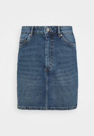 ONLROSE LIFE SKIRT - Denim skirt - medium blue denim