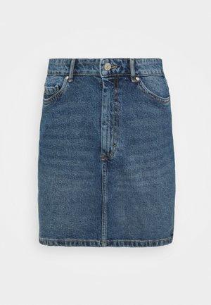 ONLROSE LIFE SKIRT - Gonna di jeans - medium blue denim
