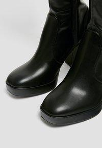 PULL&BEAR - High heeled boots - black - 5