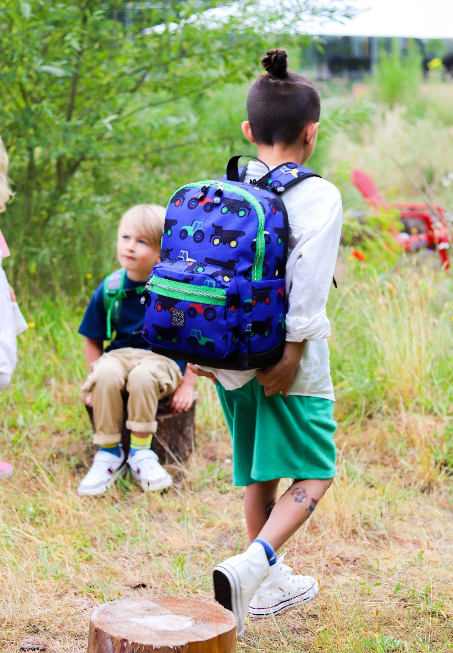 Enfant TRACTOR - Cartable d'école
