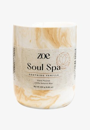 SOUL SPA SOOTHING VANILLA - Scented candle - beige