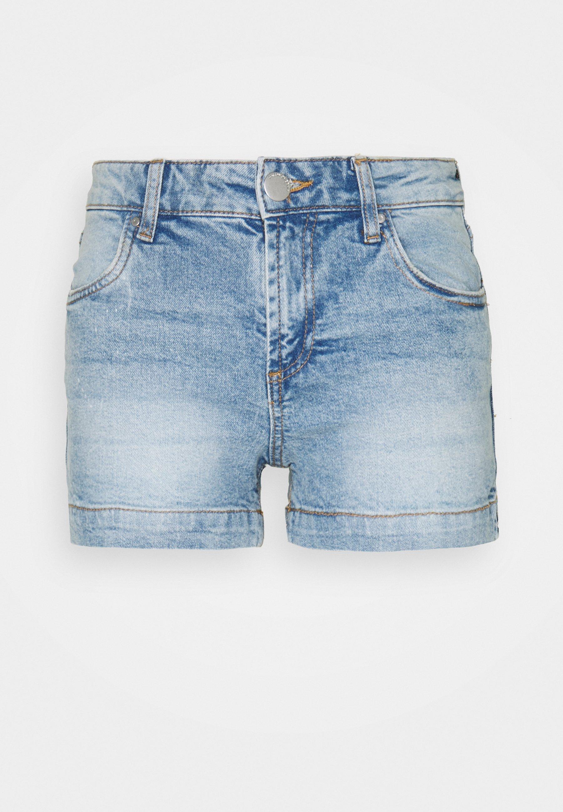 Women MID RISE CLASSIC - Denim shorts