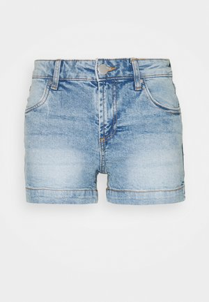 MID RISE CLASSIC - Jeansshort - brighton blue
