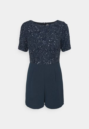 CLARA PLAYSUIT - Mono - navy