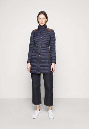 SOFT JACKET - Down coat - navy