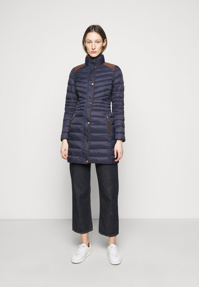 SOFT JACKET - Abrigo de plumas - navy