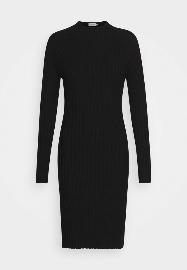 SELENA DRESS - Korte jurk - black