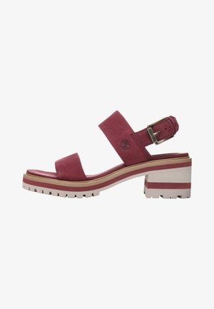 VIOLET MARS 2 BAND SANDAL - Sandals - burgundy