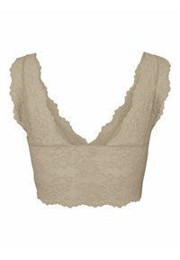 Pieces - PCLINA BRA - Bustier - white pepper - 1