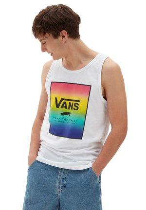 MN PRINT BOX TANK - Top - white/spectrum tie dye