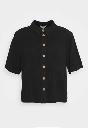 OBJHADY - Button-down blouse - black