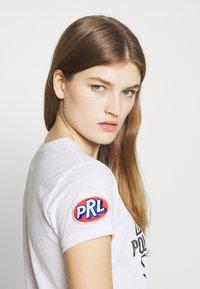 Polo Ralph Lauren - SHORT SLEEVE - Triko spotiskem - white - 3