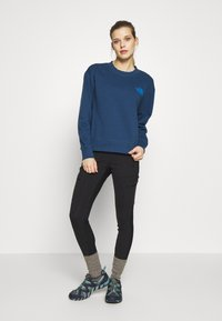 The North Face - WOMENS PARKS SLIGHTLY CROPPED CREW - Mikina - blue wing teal - 1