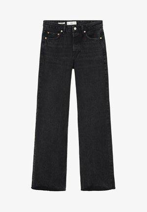 ARIADNA - Flared Jeans - black denim