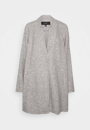 VM BRUSHED KATRINE - Cappotto corto - light grey melange