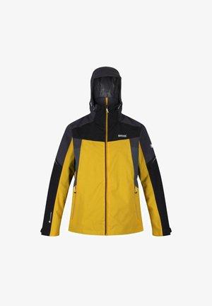 OKLAHOMA VI  - Waterproof jacket - grapefruit/ash/black/magnet